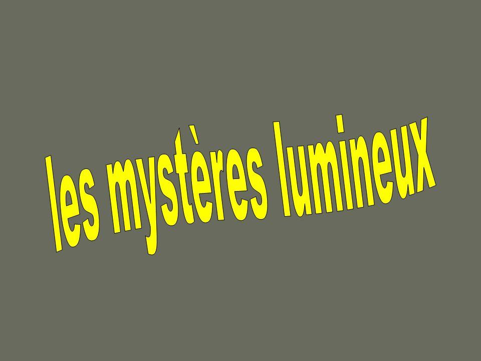 les mystères lumineux