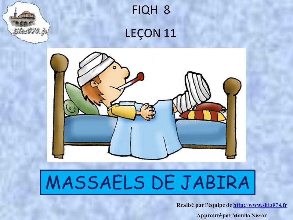 MASSAELS DE JABIRA FIQH 8 LEÇON 11