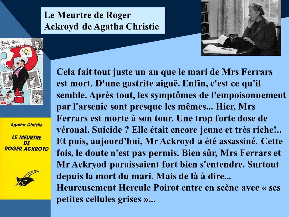 Le Meurtre de Roger Ackroyd de Agatha Christie