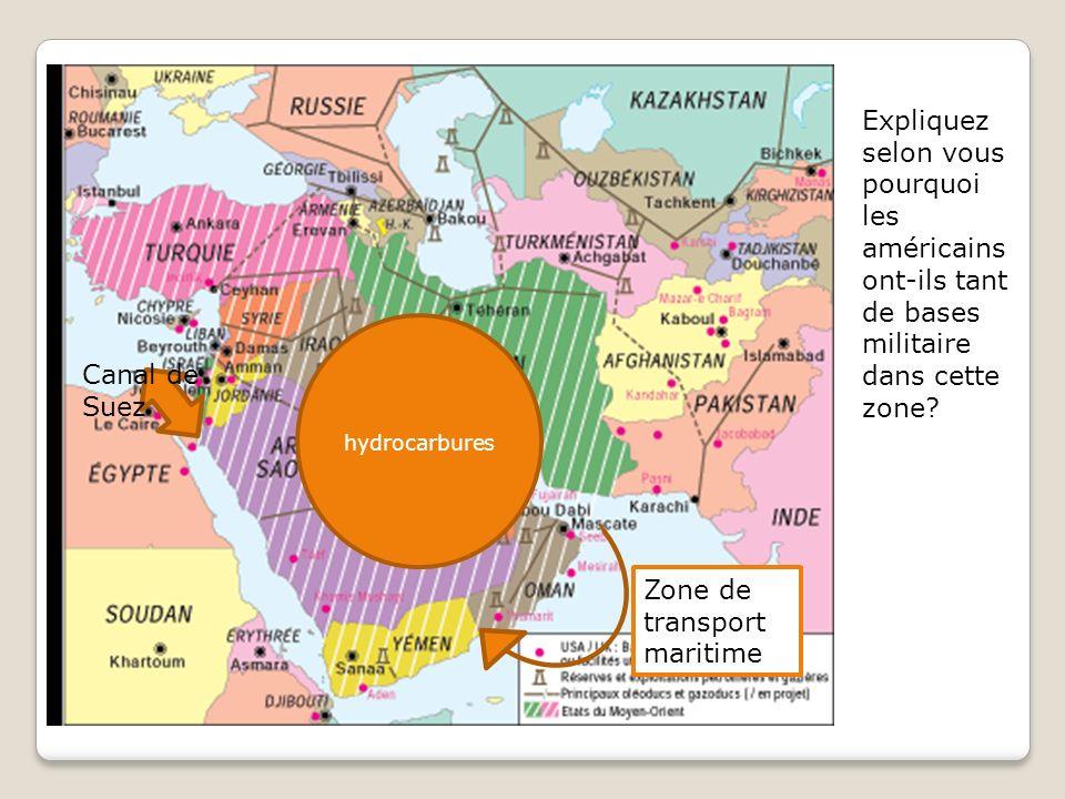 Zone de transport maritime