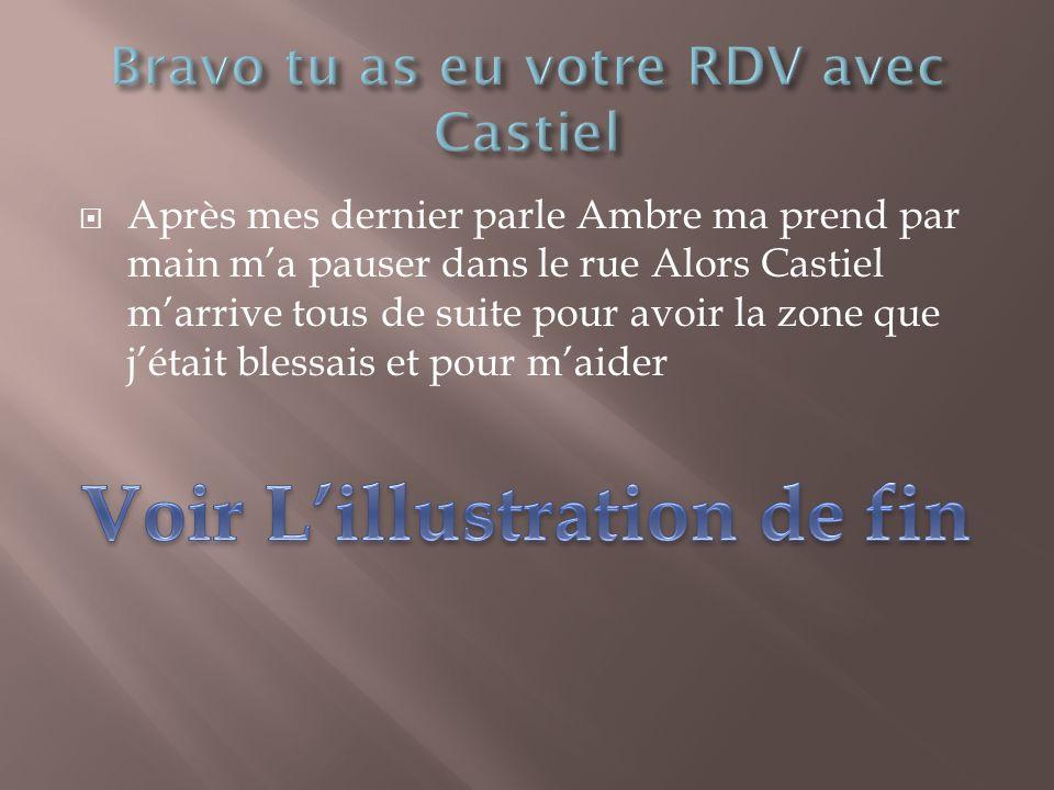 Bravo tu as eu votre RDV avec Castiel