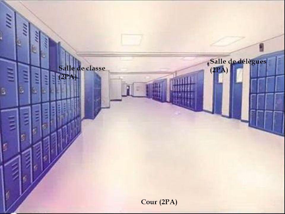 le lycée Salle de délègues (2PA) Salle de classe (2PA) Cour (2PA)