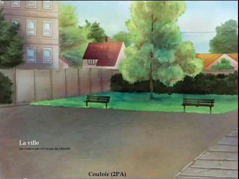 rue La ville (ne s ouvre pas s'il ya pas un objectif) Couloir (2PA)