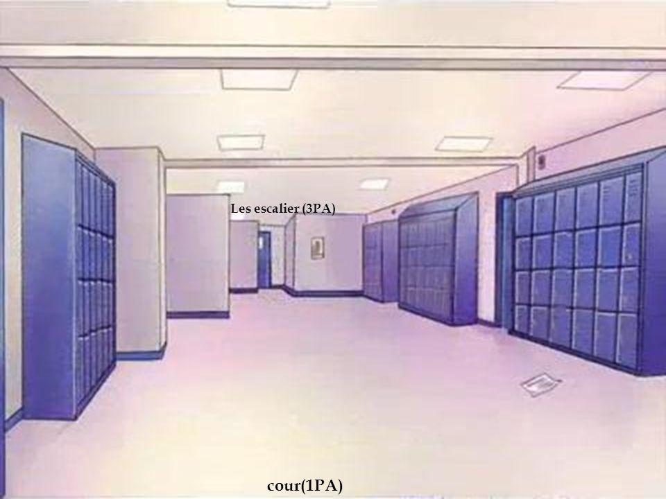 2emme couloir Les escalier (3PA) cour(1PA)