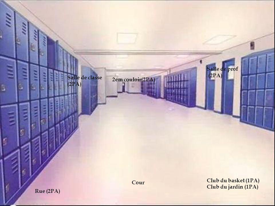le lycée Salle de prof (2PA) Salle de classe 2em couloir(2PA) (2PA)
