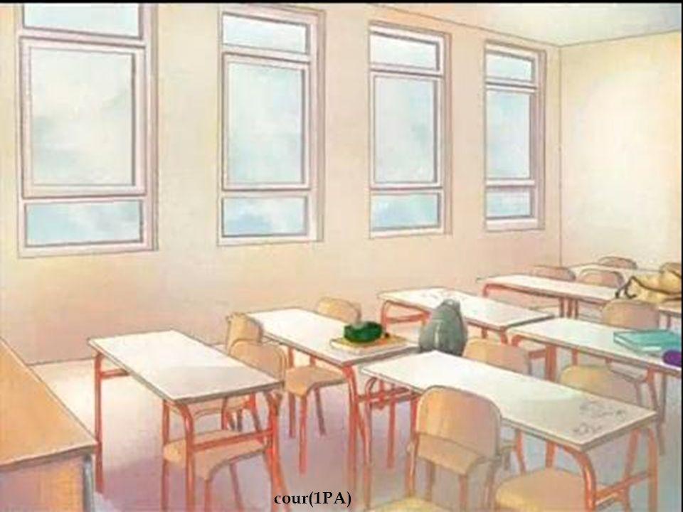 Salle de classe cour(1PA)