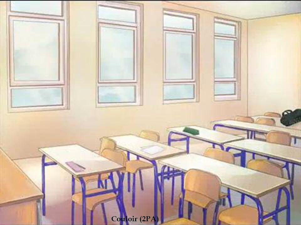 Salle de classe Couloir (2PA)