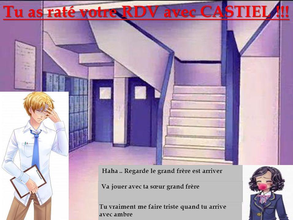 Les escaliers Tu as raté votre RDV avec CASTIEL !!!