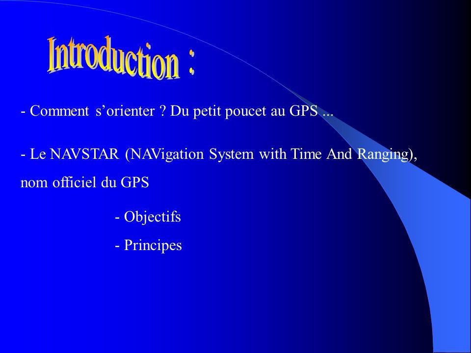 Introduction : - Comment s'orienter Du petit poucet au GPS ...