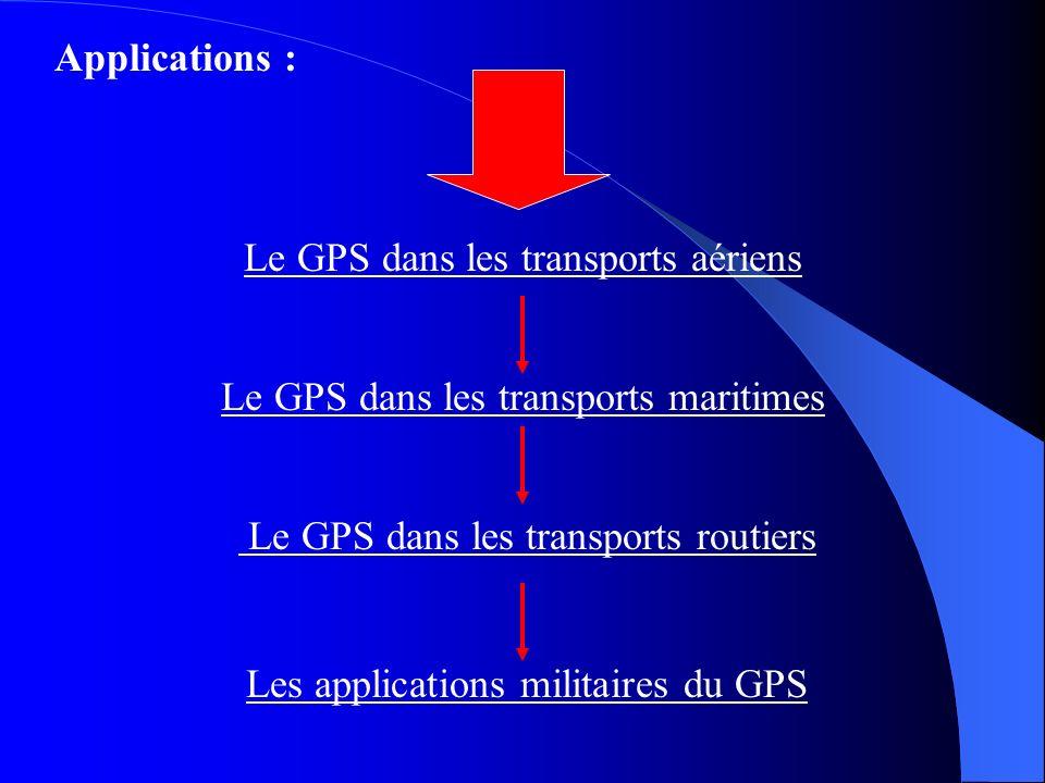 Le GPS dans les transports aériens