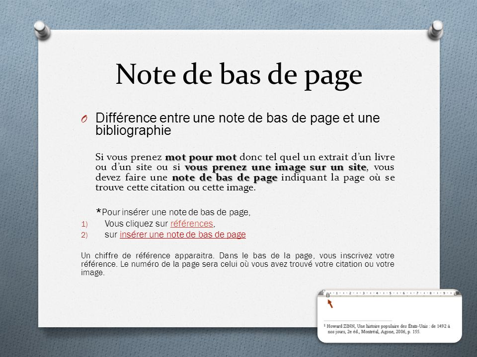 Cours 16 la bibliographie ppt t l charger - Difference entre note 3 et note 3 lite ...