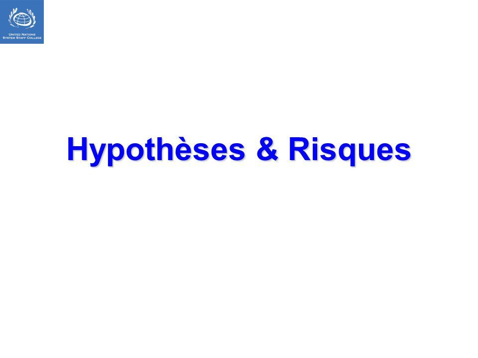 Hypothèses & Risques DIAPO CACHEE
