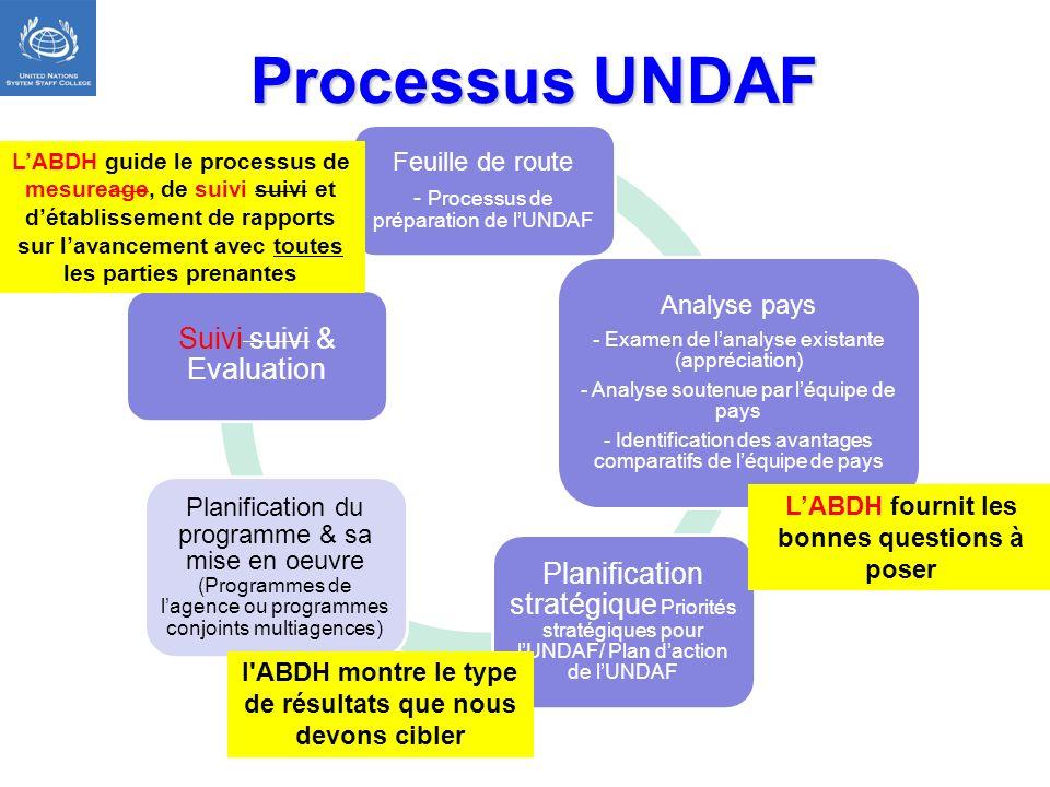 Processus UNDAF