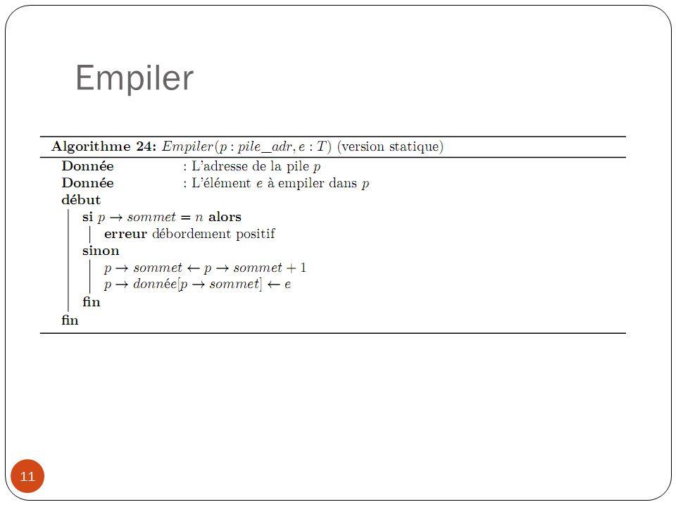 Empiler