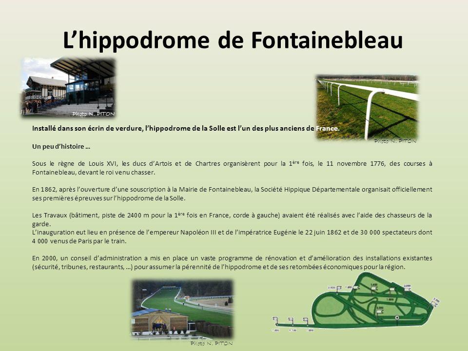 L'hippodrome de Fontainebleau