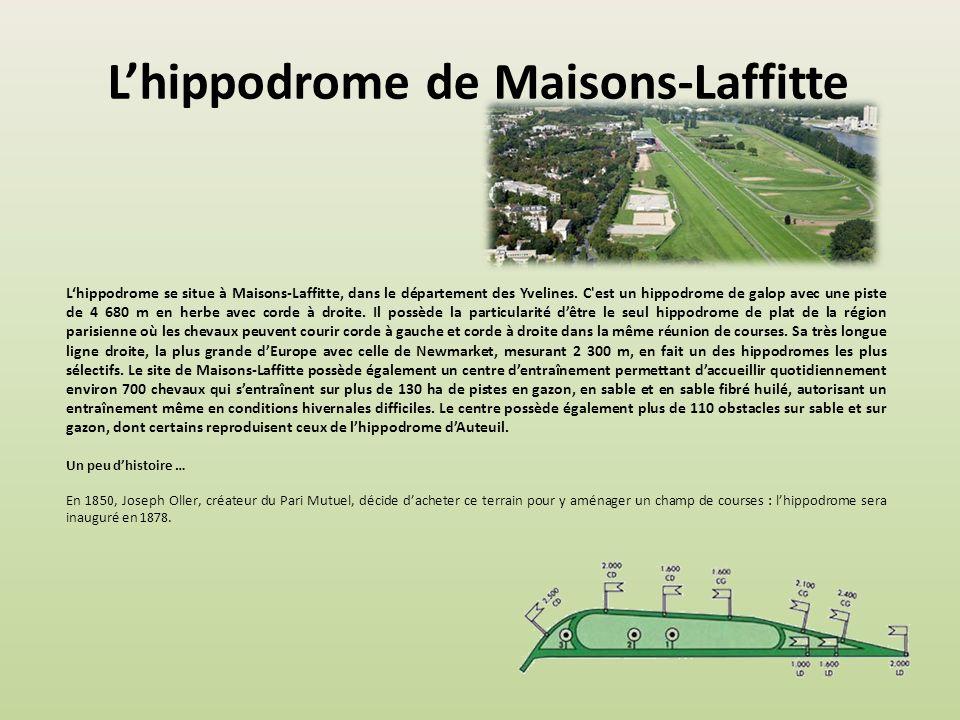 L'hippodrome de Maisons-Laffitte