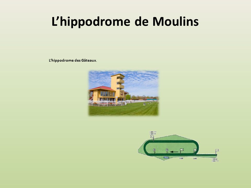 L'hippodrome de Moulins