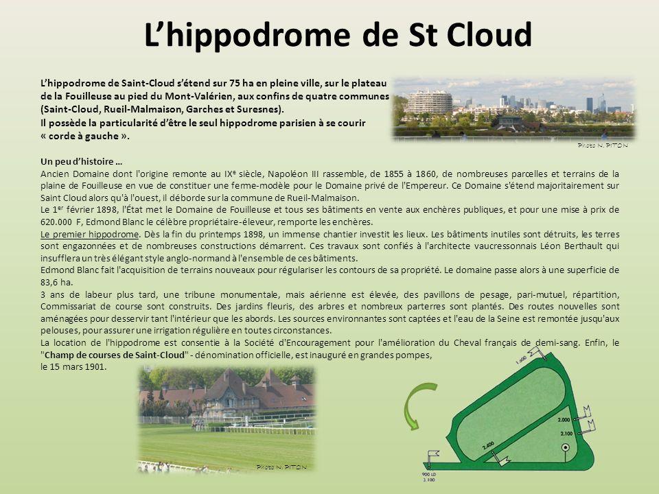 L'hippodrome de St Cloud