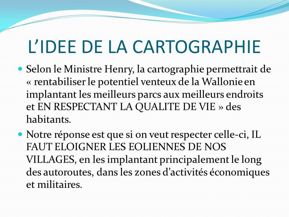 L'IDEE DE LA CARTOGRAPHIE