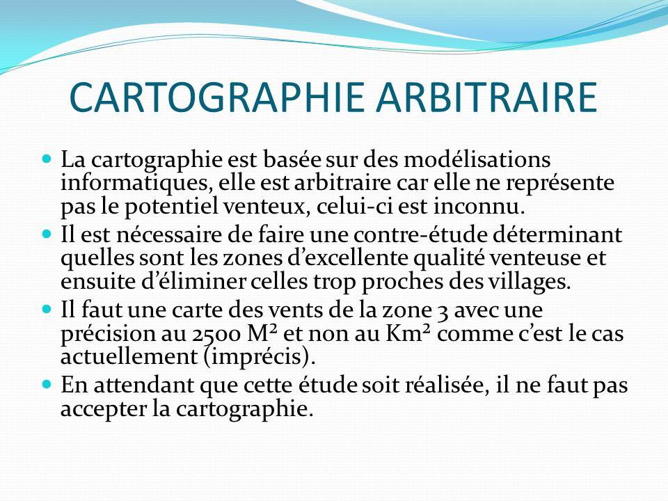 CARTOGRAPHIE ARBITRAIRE