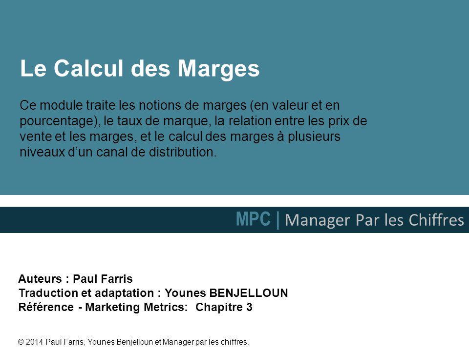 Le Calcul des Marges MPC | Manager Par les Chiffres