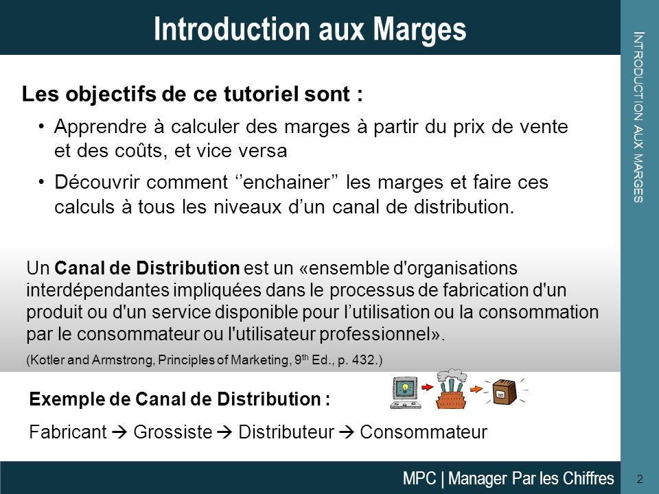 Introduction aux marges