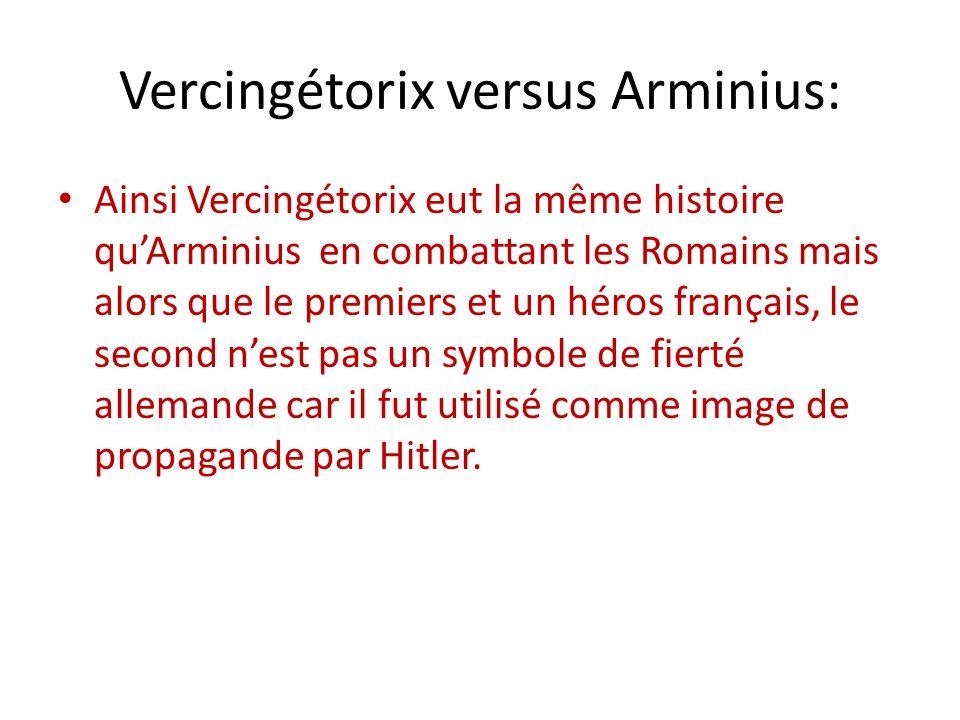 Vercingétorix versus Arminius: