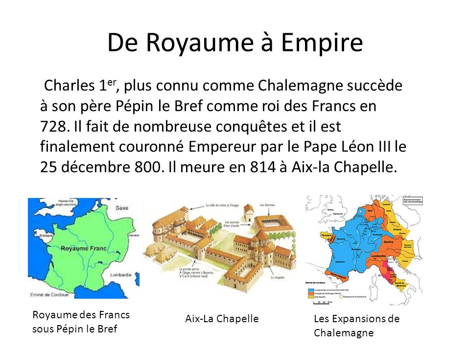 De Royaume à Empire