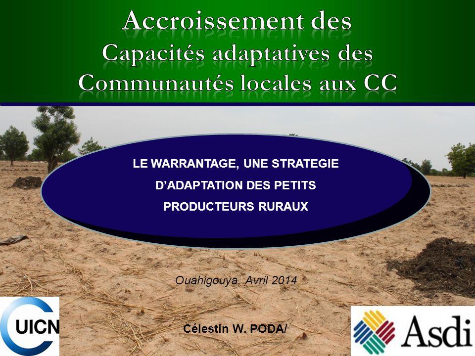 Accroissement des Capacités adaptatives des Communautés locales aux CC