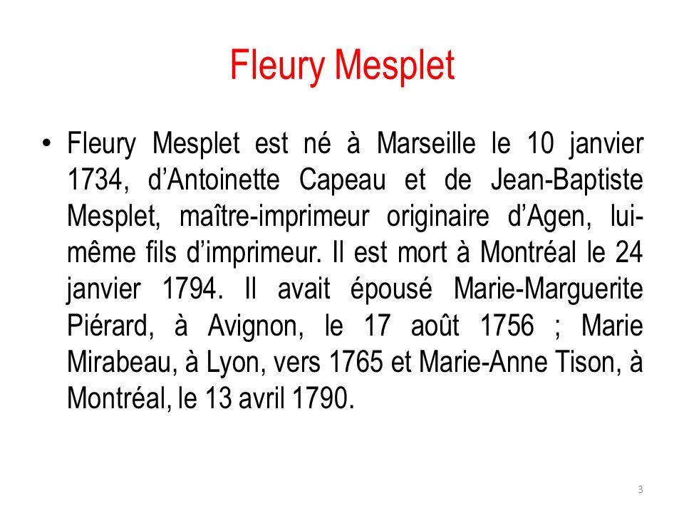 Fleury Mesplet