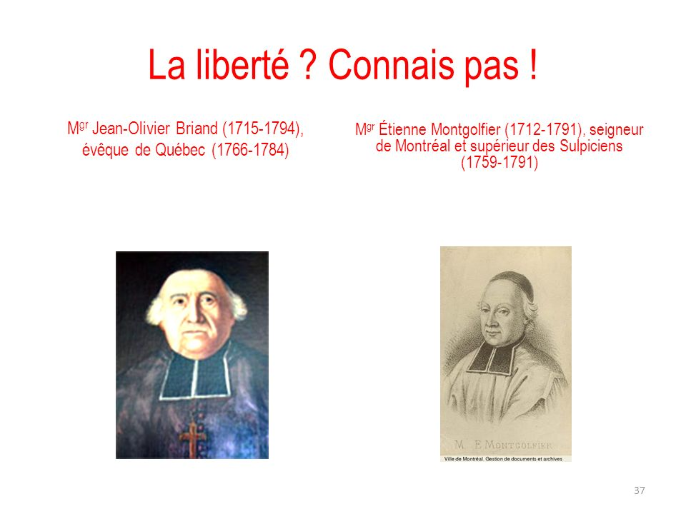 Mgr Jean-Olivier Briand (1715-1794),