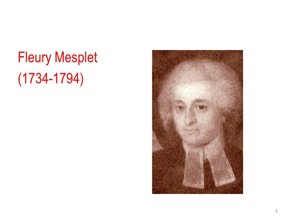 Fleury Mesplet (1734-1794)