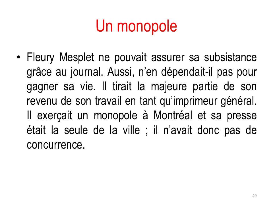 Un monopole