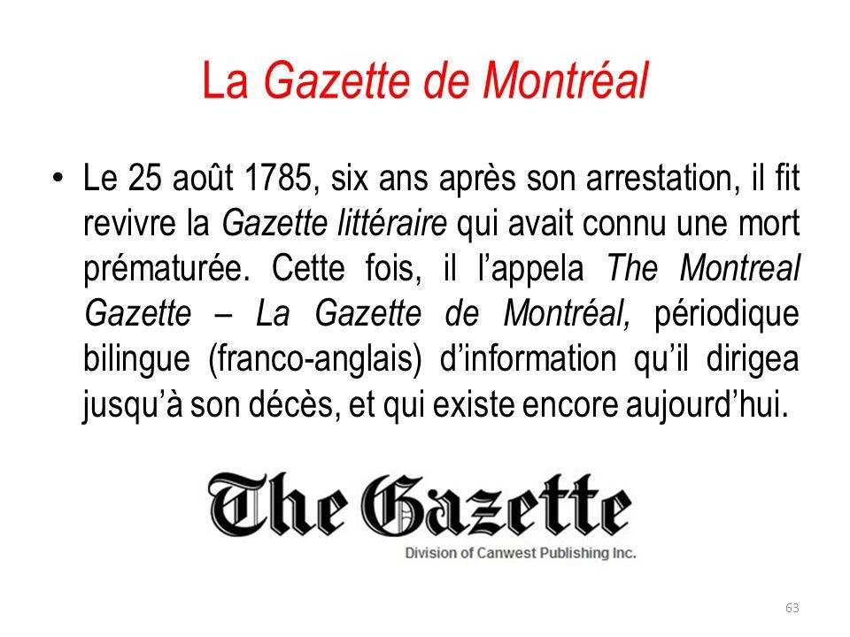 La Gazette de Montréal