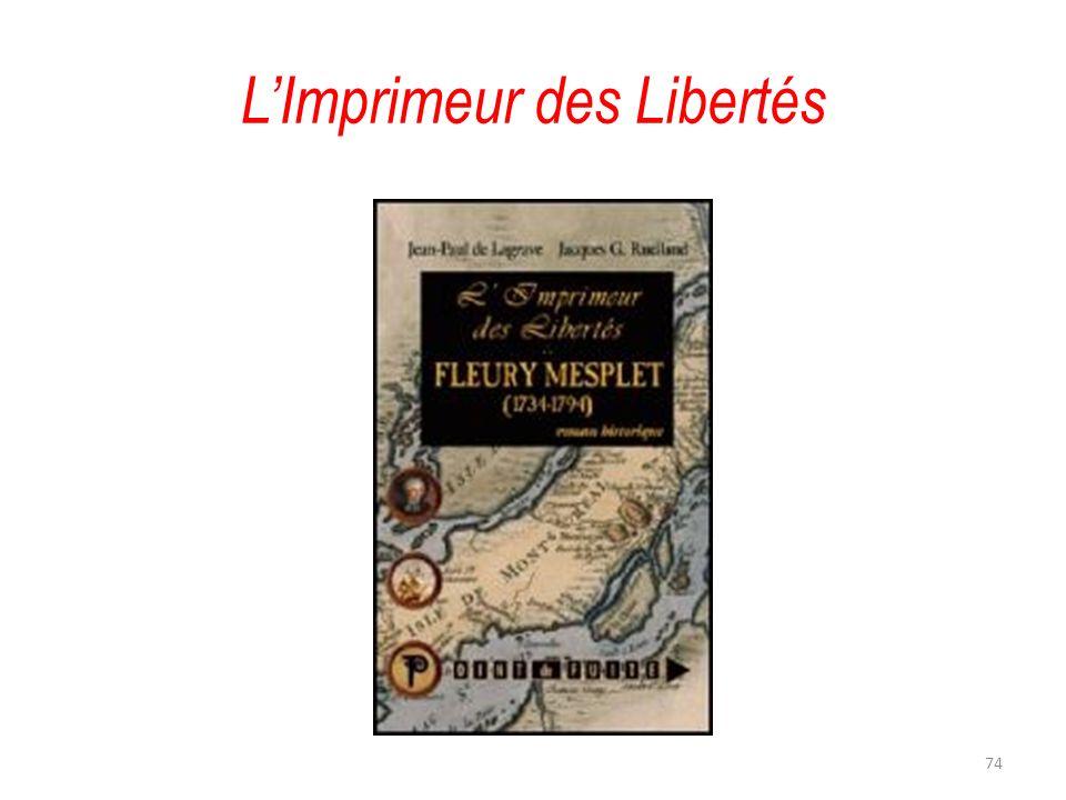L'Imprimeur des Libertés