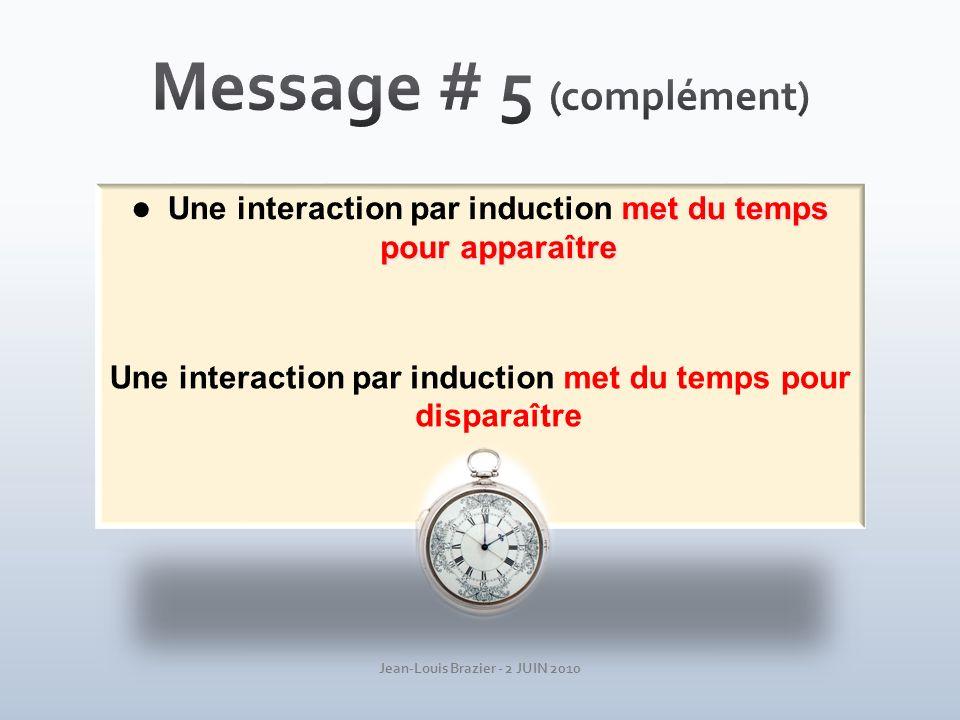 Message # 5 (complément)