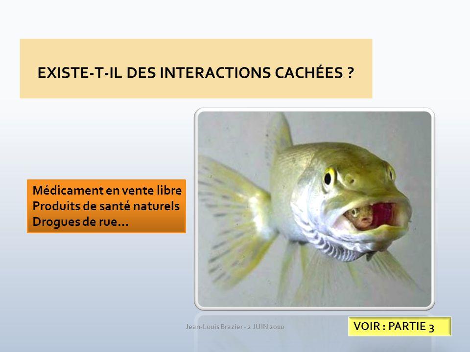 EXISTE-T-IL DES INTERACTIONS CACHÉES