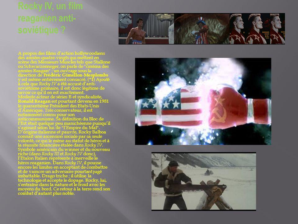 Rocky IV, un film reaganien anti-soviétique