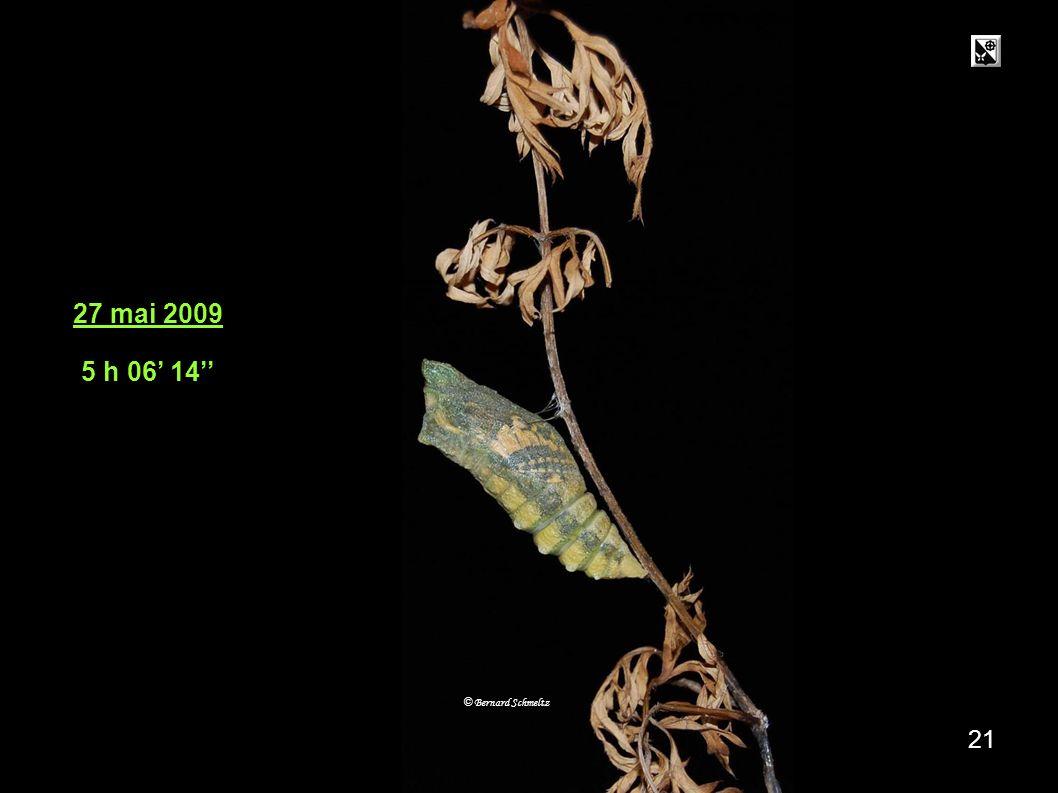 27 .05. 05h 6' 14'' 27 mai 2009 5 h 06' 14'' © Bernard Schmeltz 21