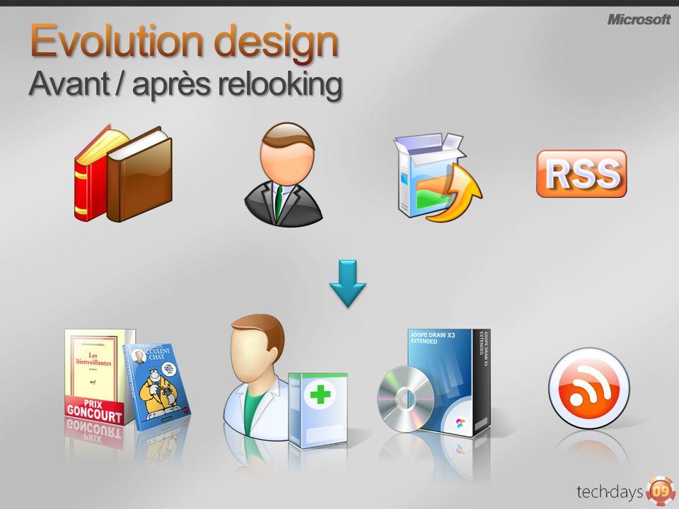 Evolution design Avant / après relooking