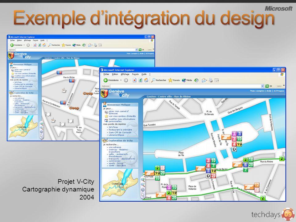 Exemple d'intégration du design