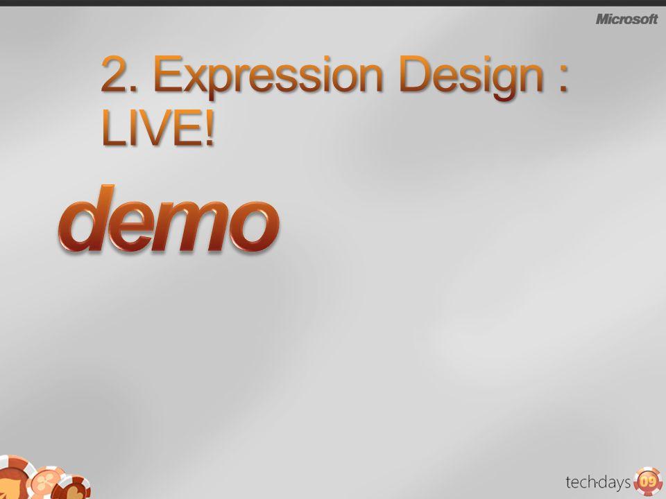 2. Expression Design : LIVE!