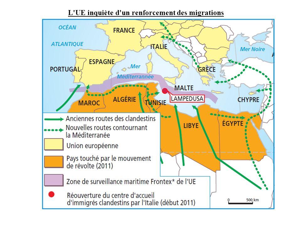 L UE inquiète d un renforcement des migrations