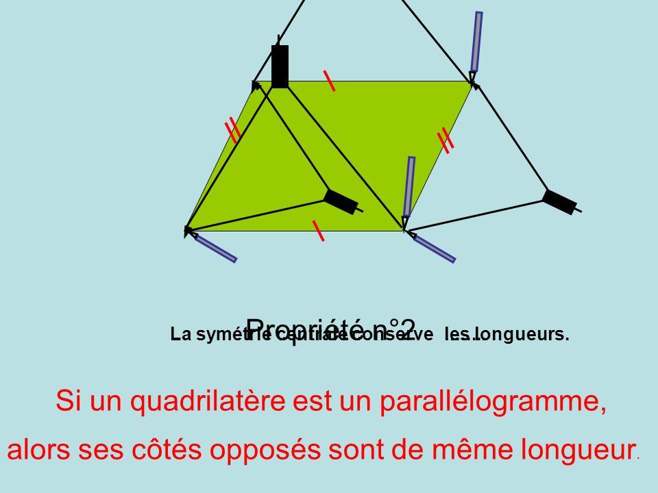 Si un quadrilatère est un parallélogramme,