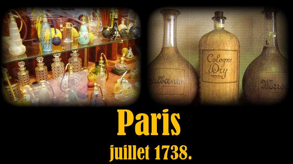 Paris juillet 1738.