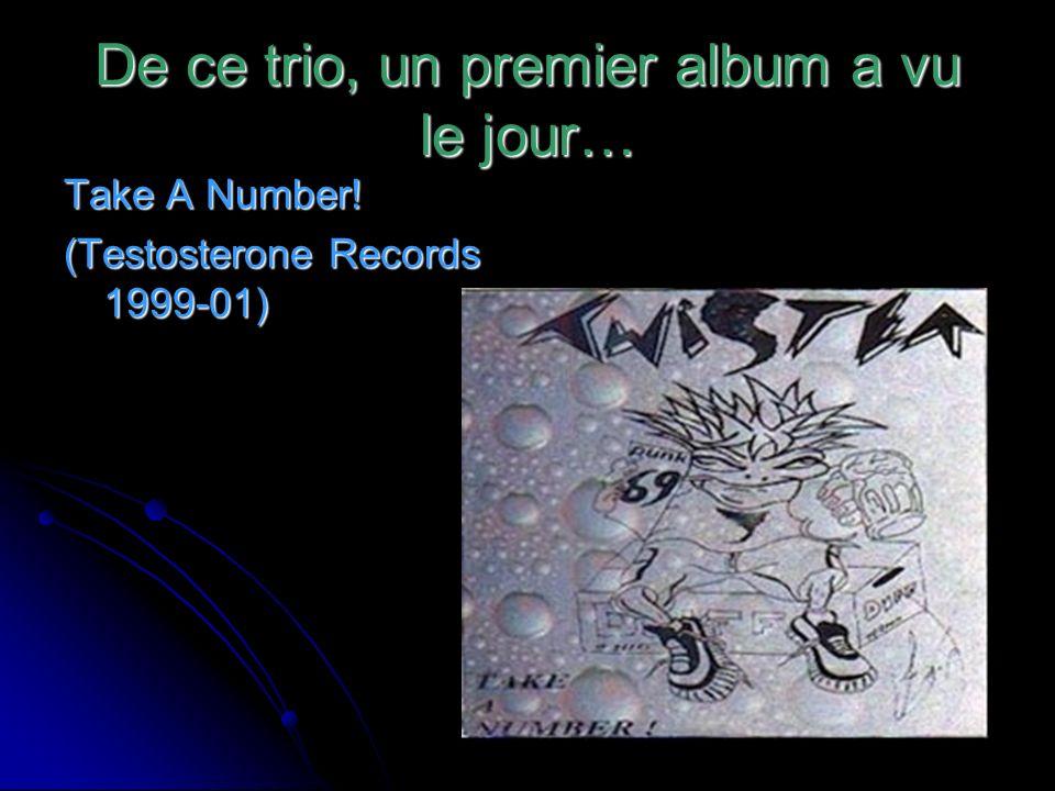 De ce trio, un premier album a vu le jour…