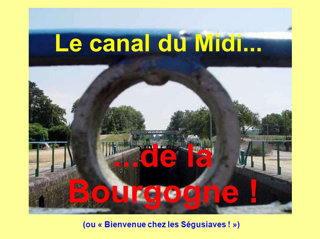 ...de la Bourgogne ! Le canal du Midi...