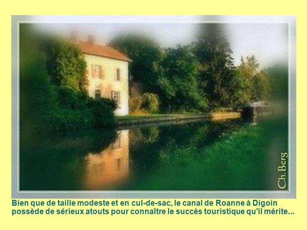 Bien que de taille modeste et en cul-de-sac, le canal de Roanne à Digoin possède de sérieux atouts pour connaître le succès touristique qu il mérite...