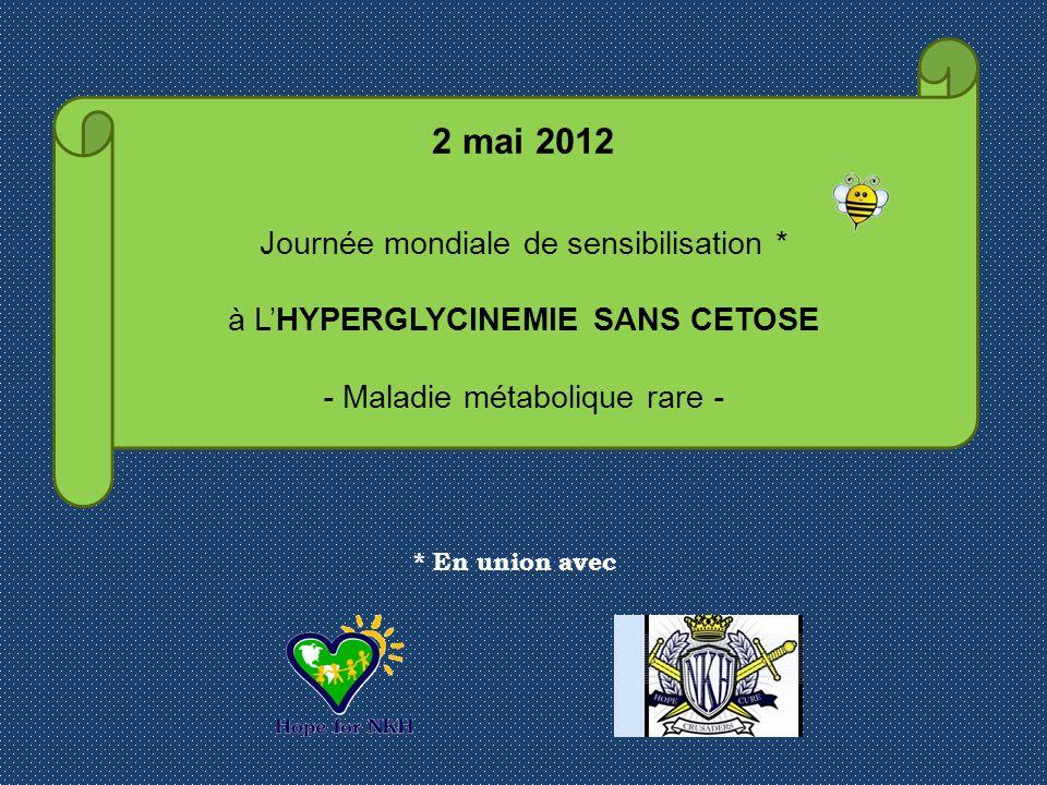 2 mai 2012 Journée mondiale de sensibilisation *