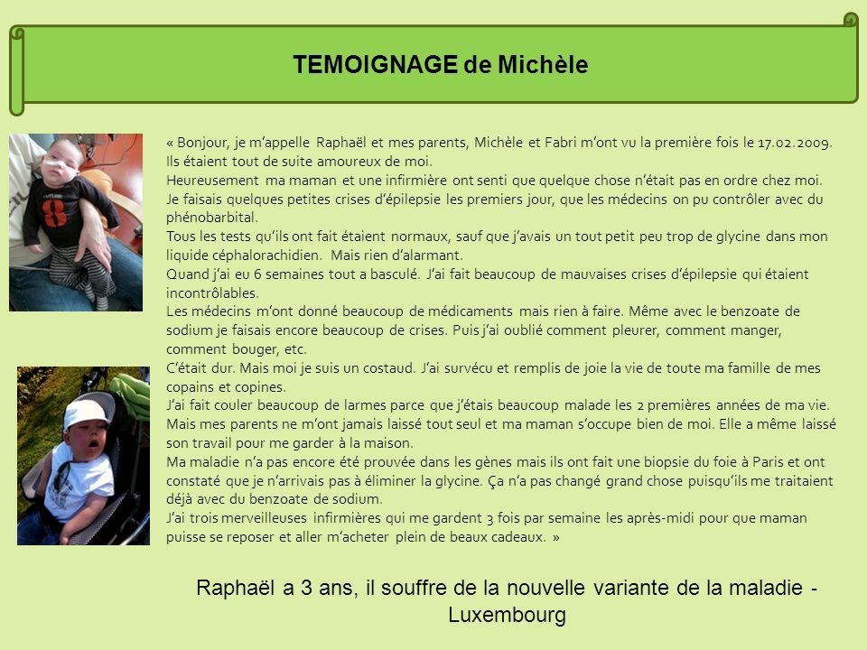 TEMOIGNAGE de Michèle